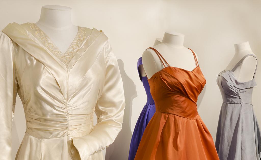 Three formal dress